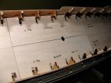 Umbau des oberen Batteriedecks und die Grätings.